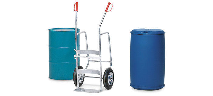 Drum trolleys and drum dollies