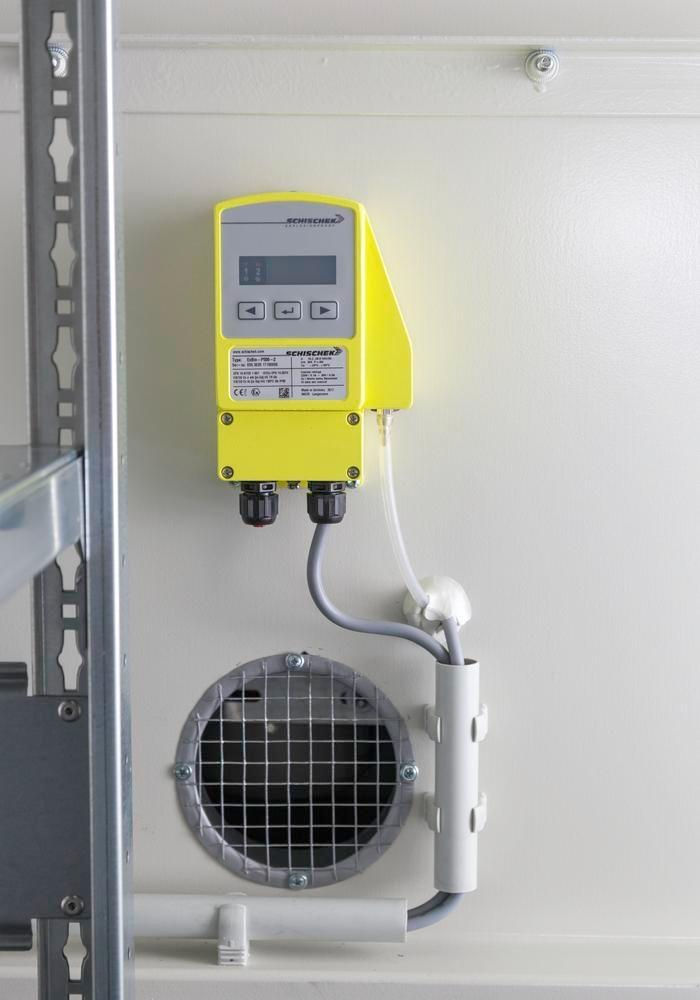 Air extraction monitoring system, ex-proof, from 25 m³/h - 2