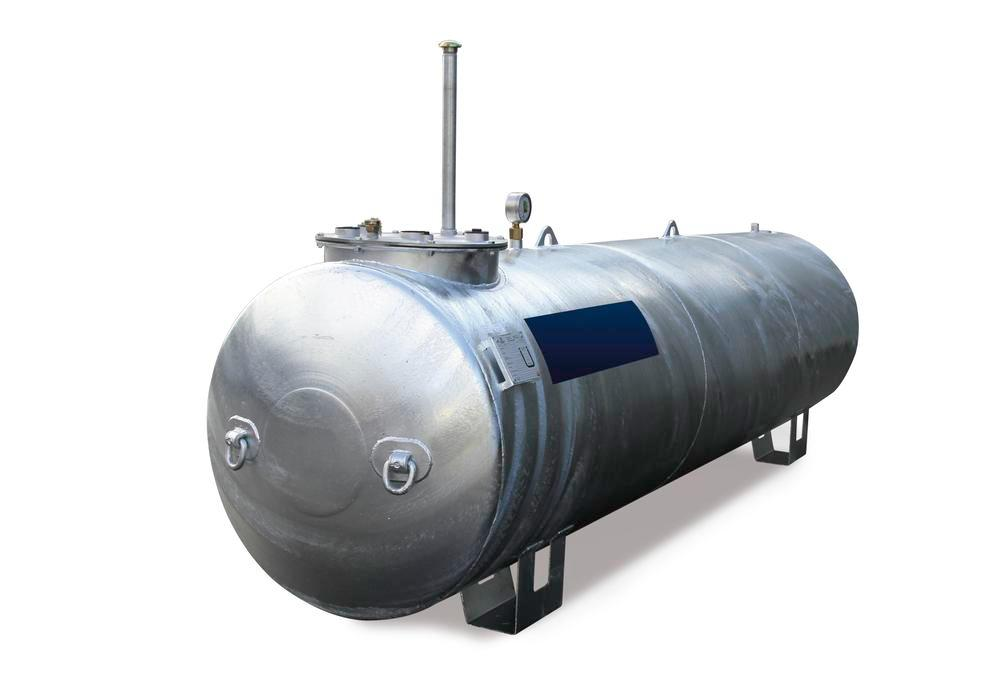 Storage tank Model LT for water-polluting liquids with a flashpoint over 55°C, 5,000 L
