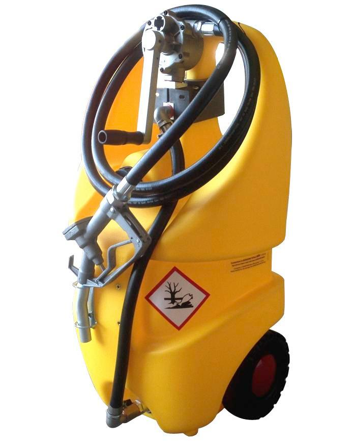 Mobile diesel fuel tank Model Caddy, 55 litre volume, with hand pump