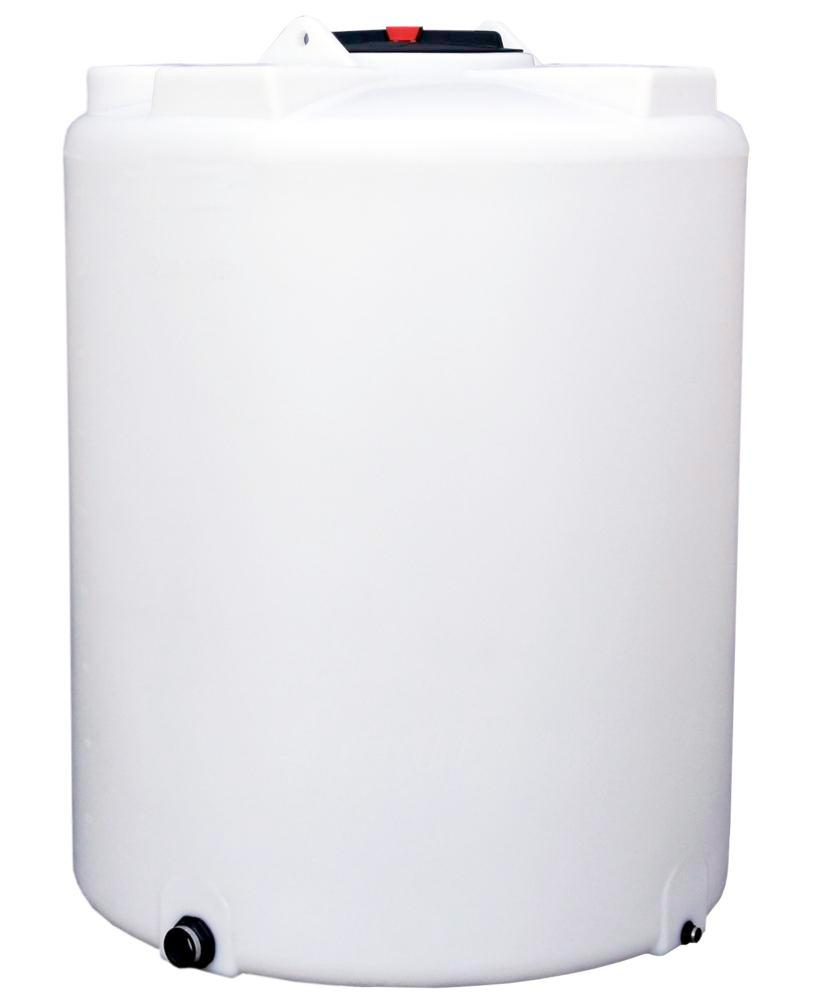 Storage and dispensing containers in polyethylene (PE), 2400 litre volume, transparent