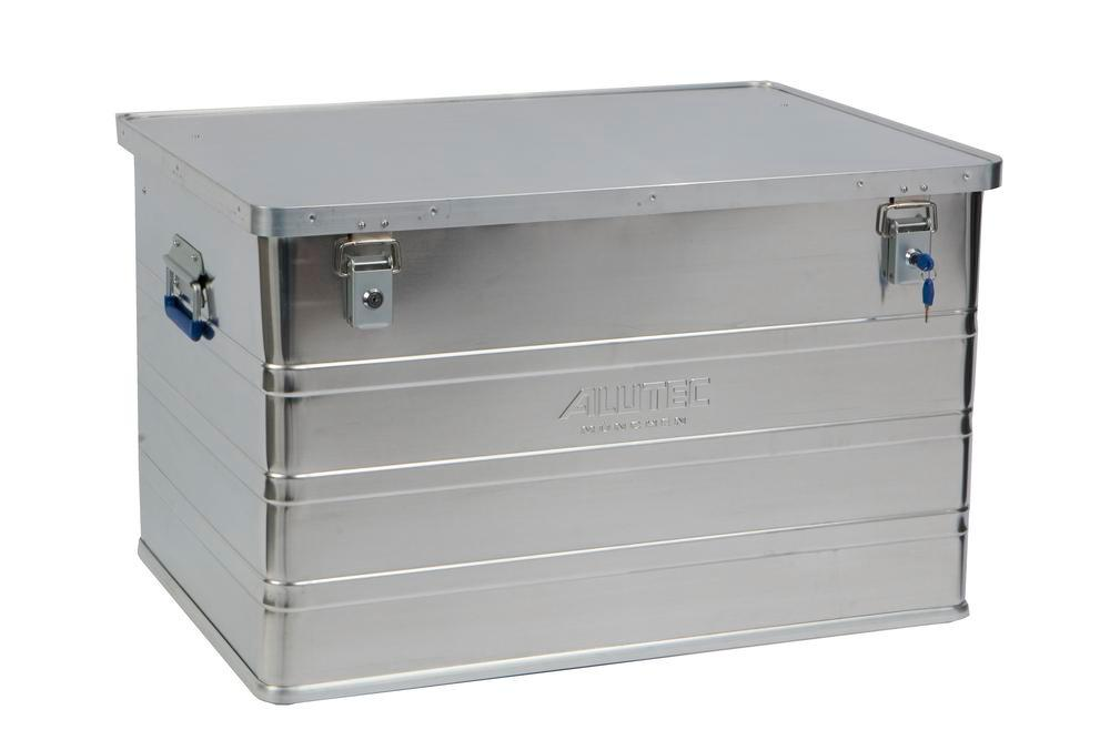 Aluminium box Classic, without stacking corners, 186 litre volume