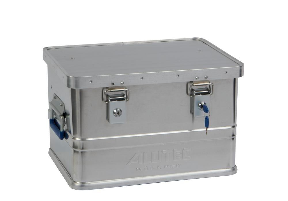 Aluminium box Classic, without stacking corners, 30 litre volume