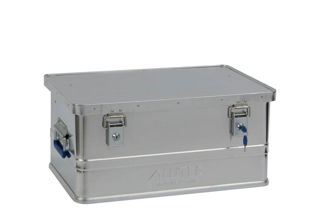 Aluminium box Classic, without stacking corners, 48 litre capacity