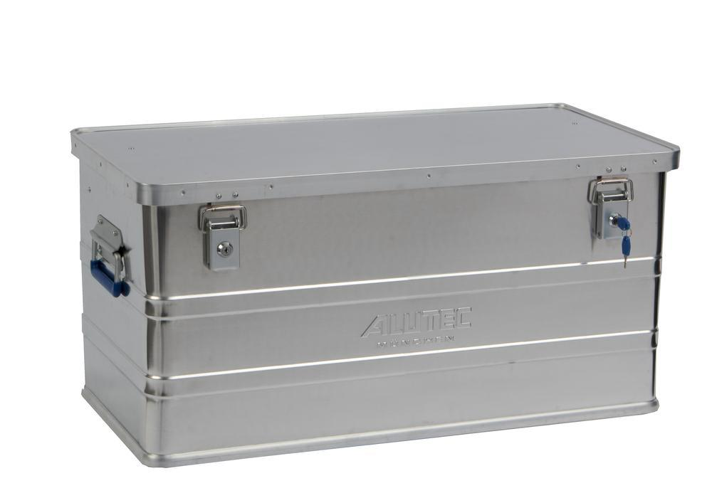 Aluminium box Classic, without stacking corners, 93 litre volume