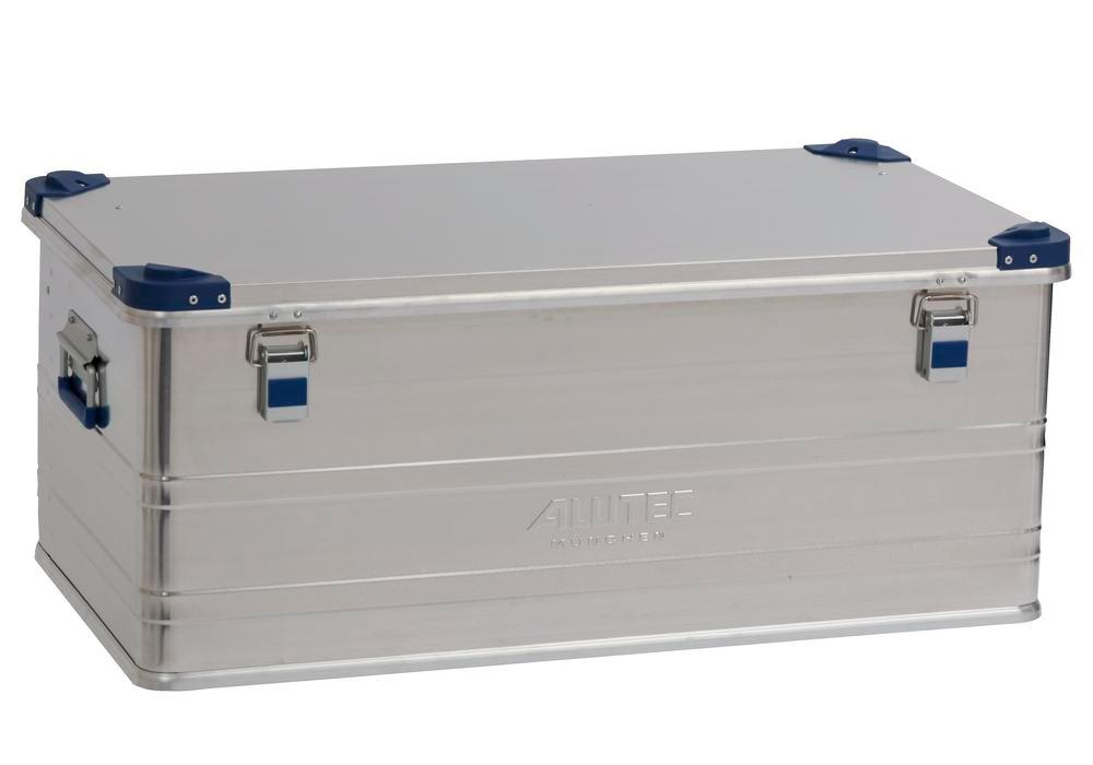 Aluminium box Industry, with stacking corners, 140 litre volume