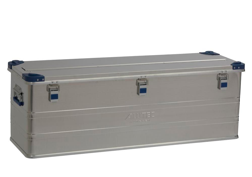 Aluminium box Industry, with stacking corners, 153 litre capacity