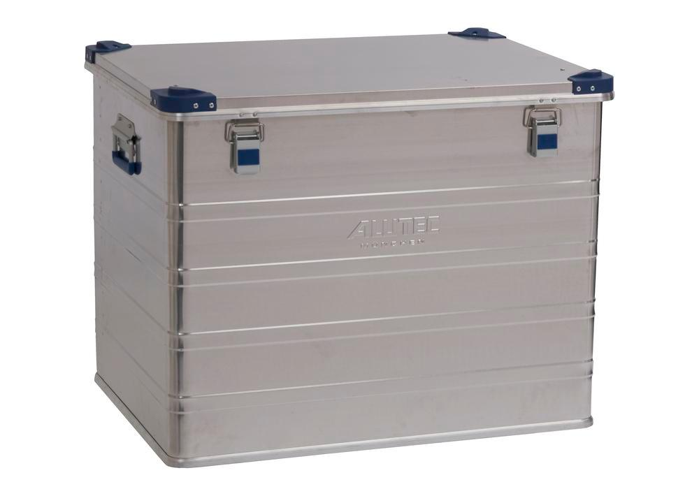 Aluminium box Industry, with stacking corners, 243 litre volume