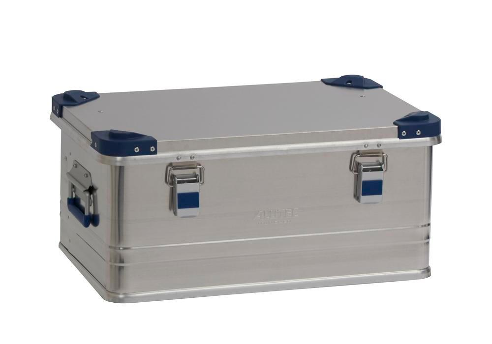 Aluminium box Industry, with stacking corners, 48 litre capacity