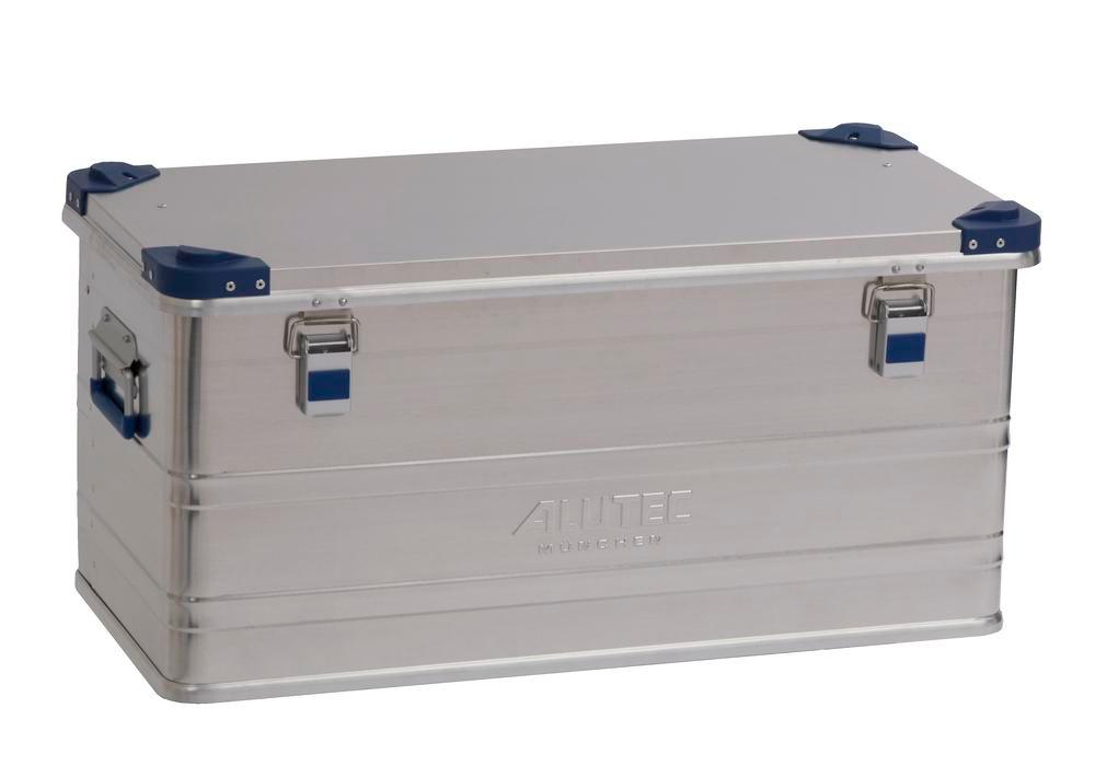 Aluminium box Industry, with stacking corners, 92 litre volume