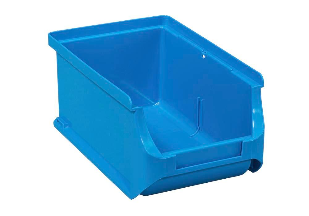 Open-fronted storage bins pro-line A2, PP, 100 x 160 x 75 mm, blue, Pack = 24 pcs. - 1