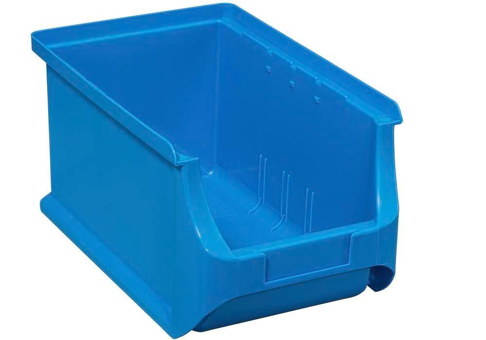 Open-fronted storage bins pro-line A3, PP, 150 x 235 x 125 mm, blue, Pack = 24 pcs.