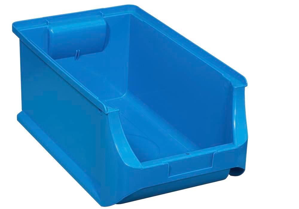 Open-fronted storage bins pro-line A4, PP, 205 x 355 x 150 mm, blue, Pack = 12 pcs. - 1