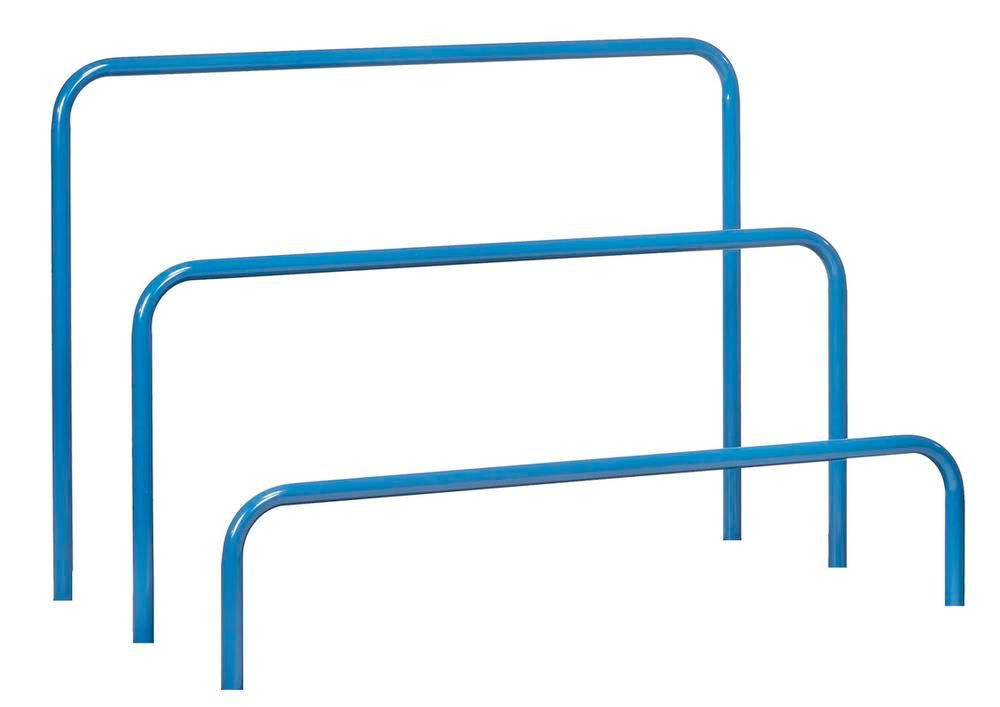Tubular frame 300 mm for universal board trolley with 800 x 1200 mm load surface - 1