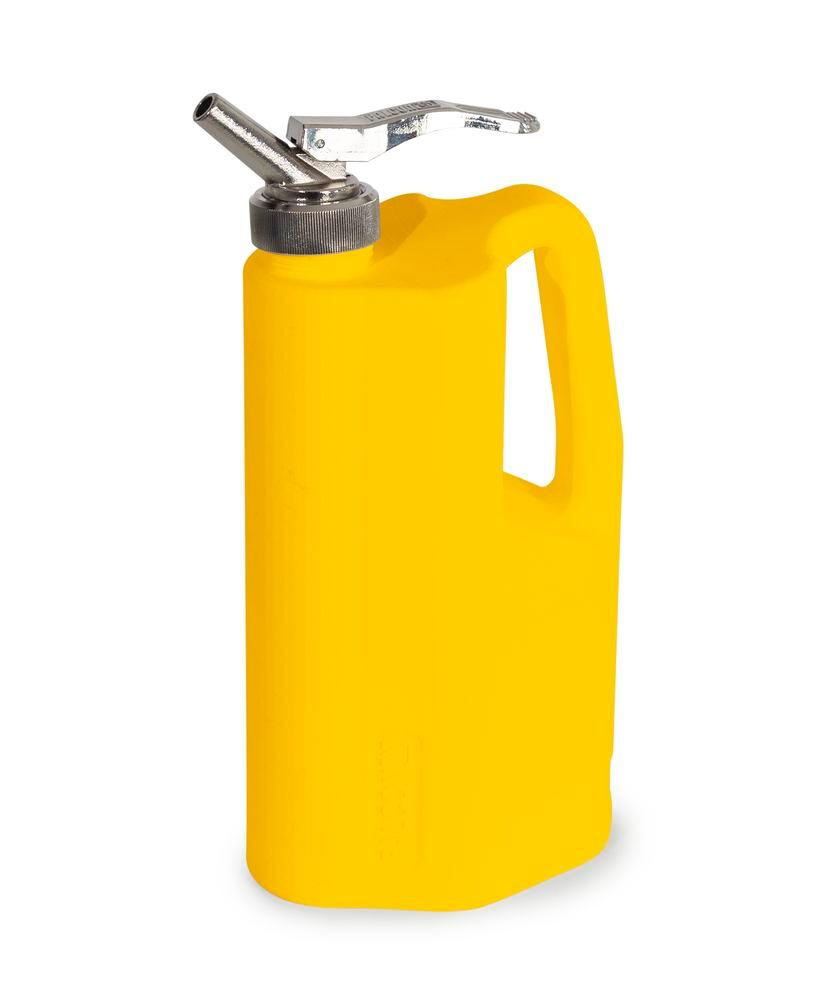 FALCON dispensing jugs in polyethylene (PE) with fine dosing tap, 2 litre volume