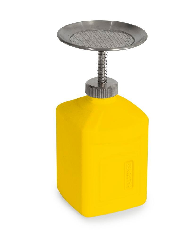 FALCON plunger can in polyethylene (PE), 1 litre volume