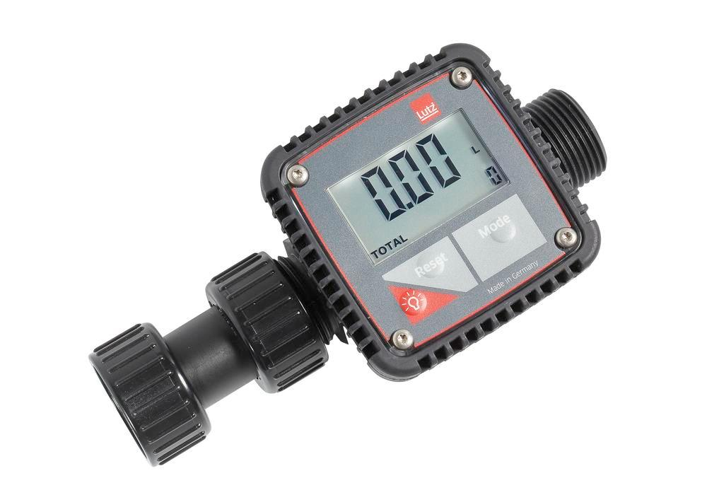 Flowmeter in PP for laboratory use, pump connection 1""