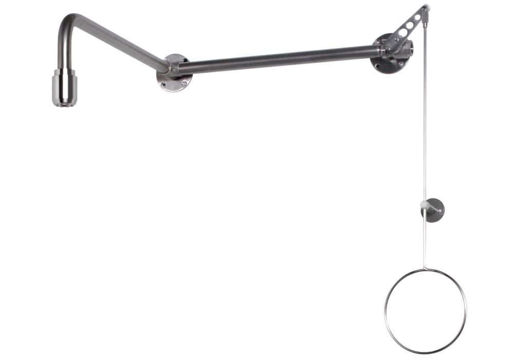 Body shower, stainless steel,over-door mounting, BR 084 095 / 75L