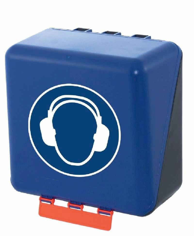 Midibox for hearing protection, blue