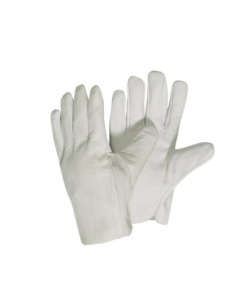 Nappa leather gloves, breathable, size 10, Category II, 12 pairs per pack