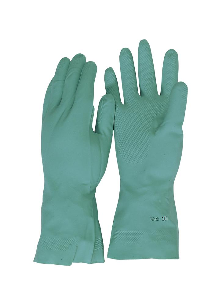 Pro-Fit RNF 15, Nitrile Gloves, Green (12 pr.), Size 10