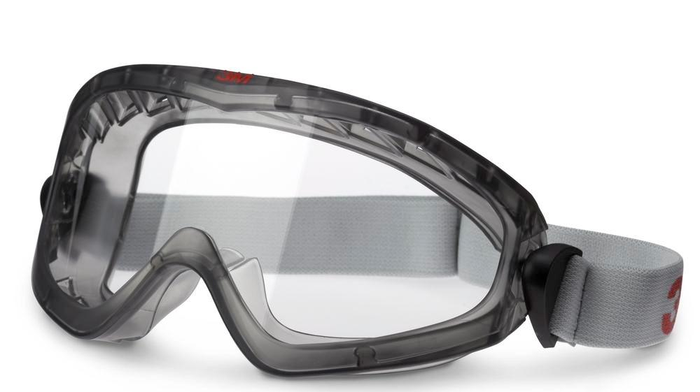 3M goggles 2890 S, Premium, without ventilation slits, clear polycarbonate lenses, AS/AF/UV
