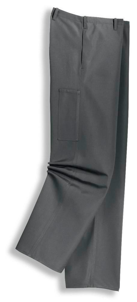 Acid and alkali resistance trousers in new timeless cut. Colour grey. Size 50