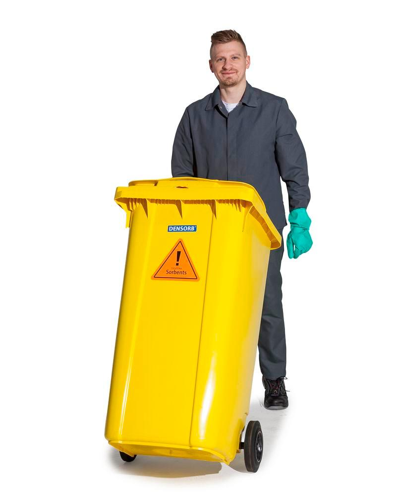 DENSORB Emergency Spill Kit in a Wheelie Bin, Type B 24, application SPECIAL - 2