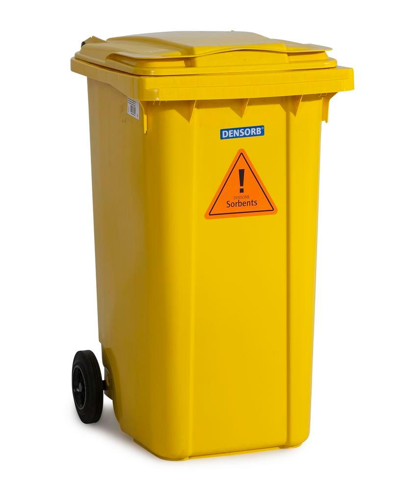 DENSORB Emergency Spill Kit in a Wheelie Bin, Type B 24, application SPECIAL - 4