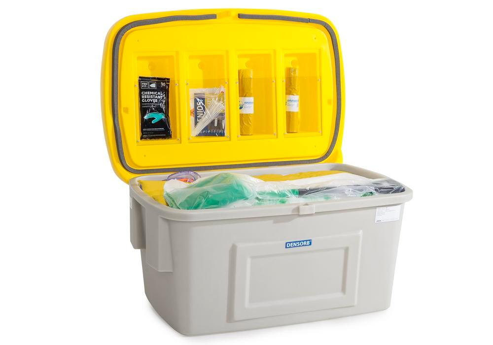 DENSORB Emergency Spill Kit in Safety Box SF400, application SPECIAL - 2