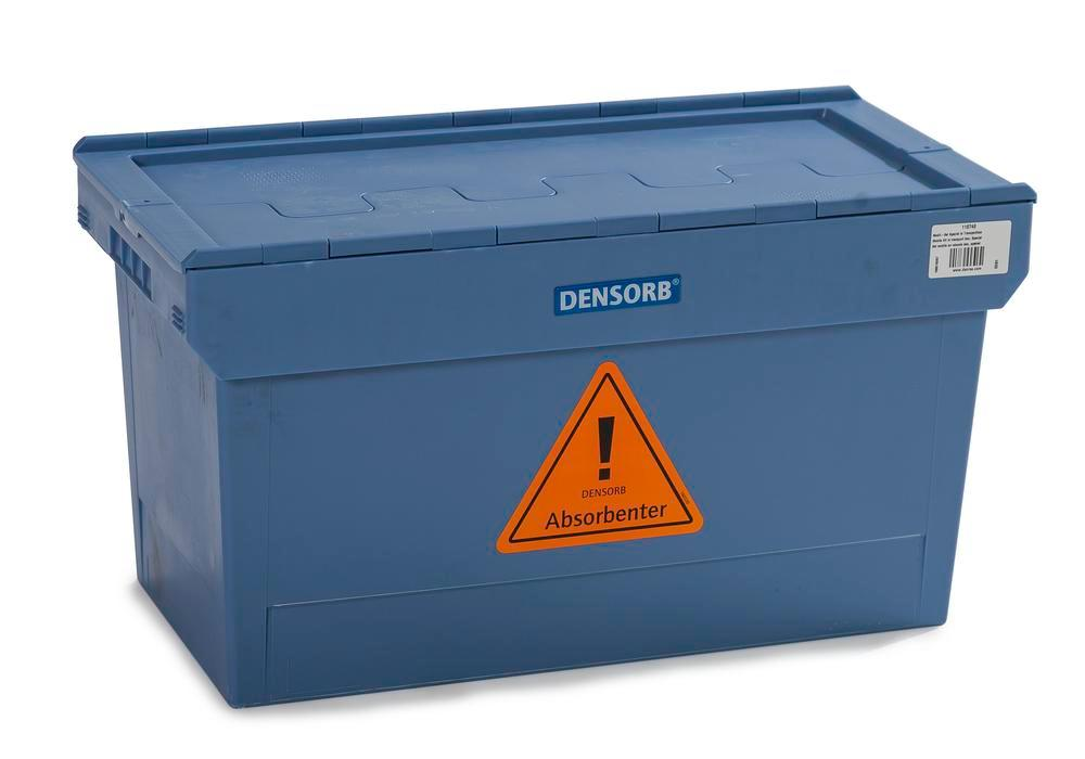 DENSORB Mobile Spill Kit in sturdy transport box, application UNIVERSAL