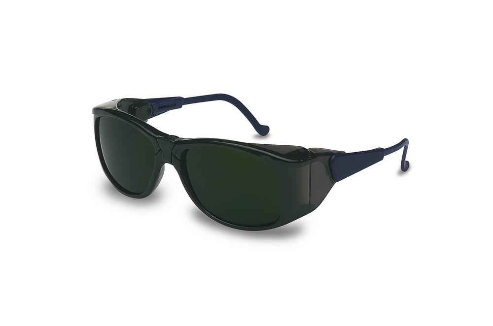 Dual lens safety glasses, Duality-IR, with welding shade and scratchproof