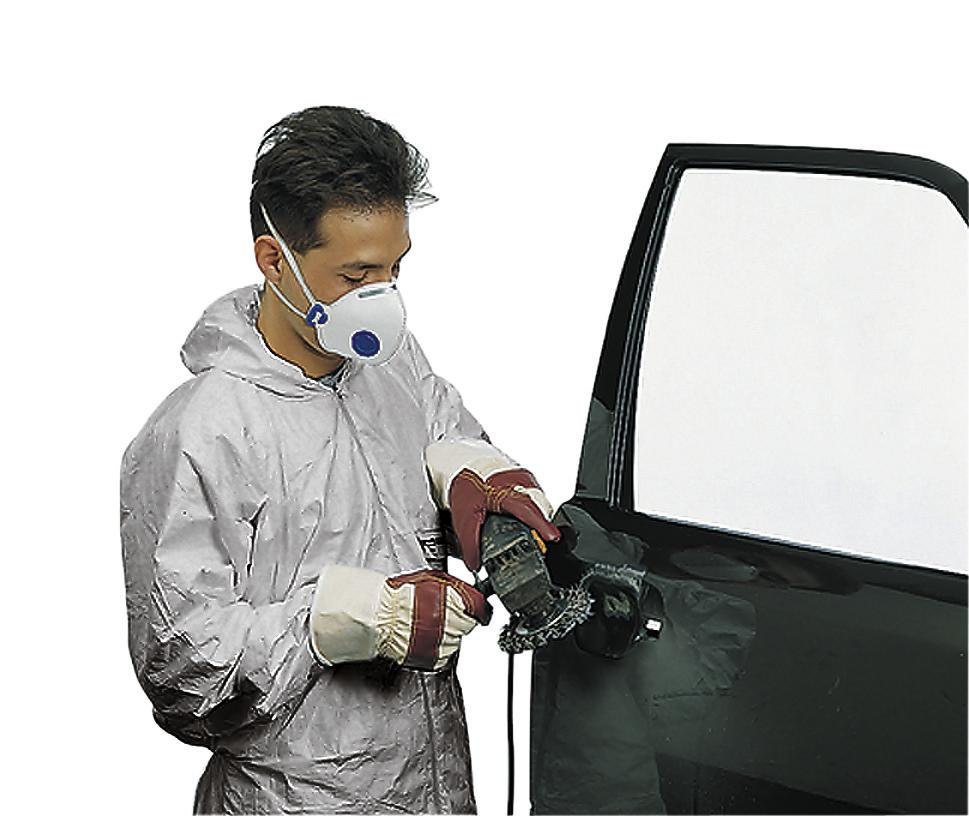 Paint overalls paint-tex, CE / PPE Category III CE 0121, Model 5, Size XL