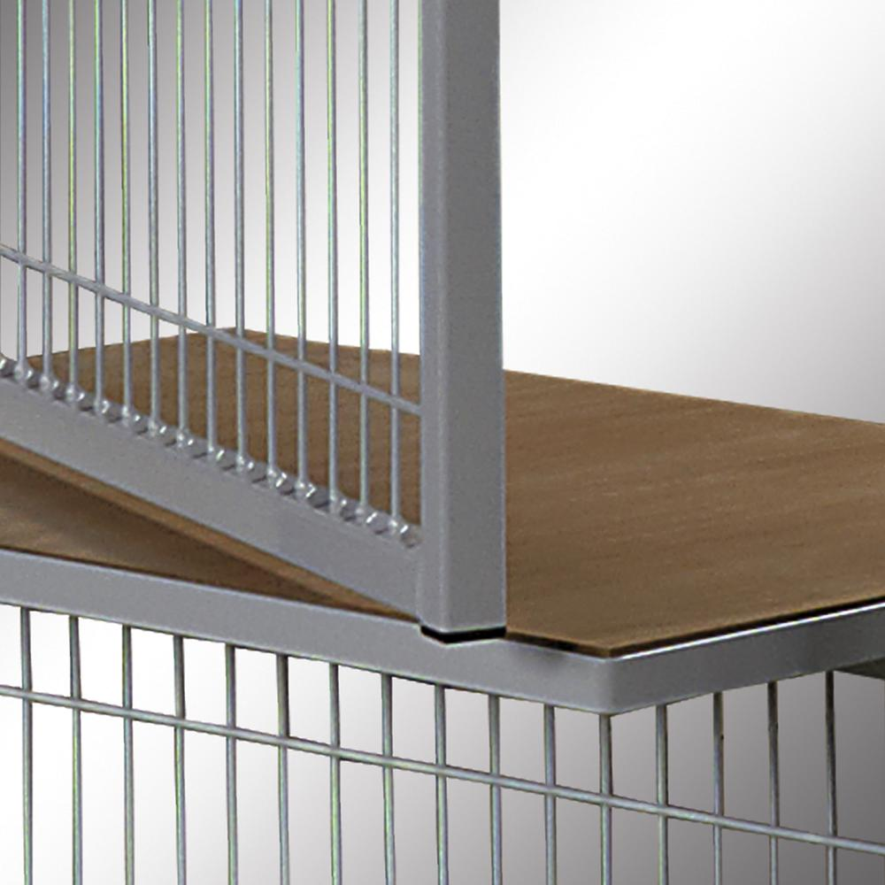 Partition wall system Easyline service window with shelf 1000 mm