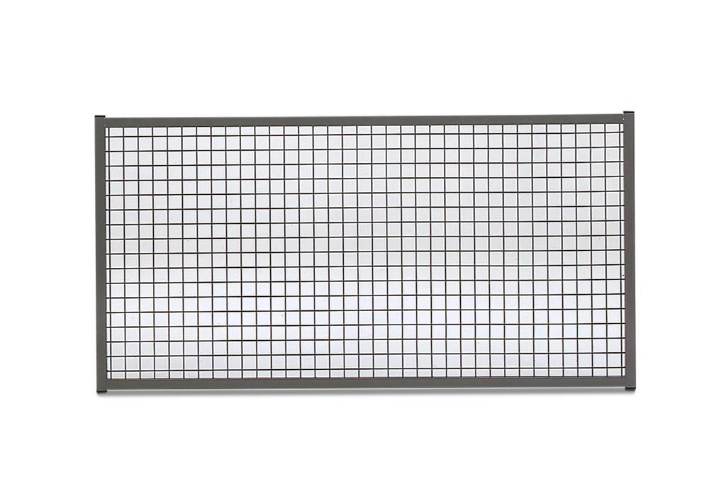 Partition wall system Easyline top panel W 500 mm