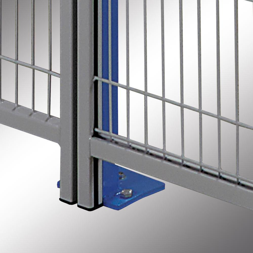 Partition wall system Easyline wall closure profile
