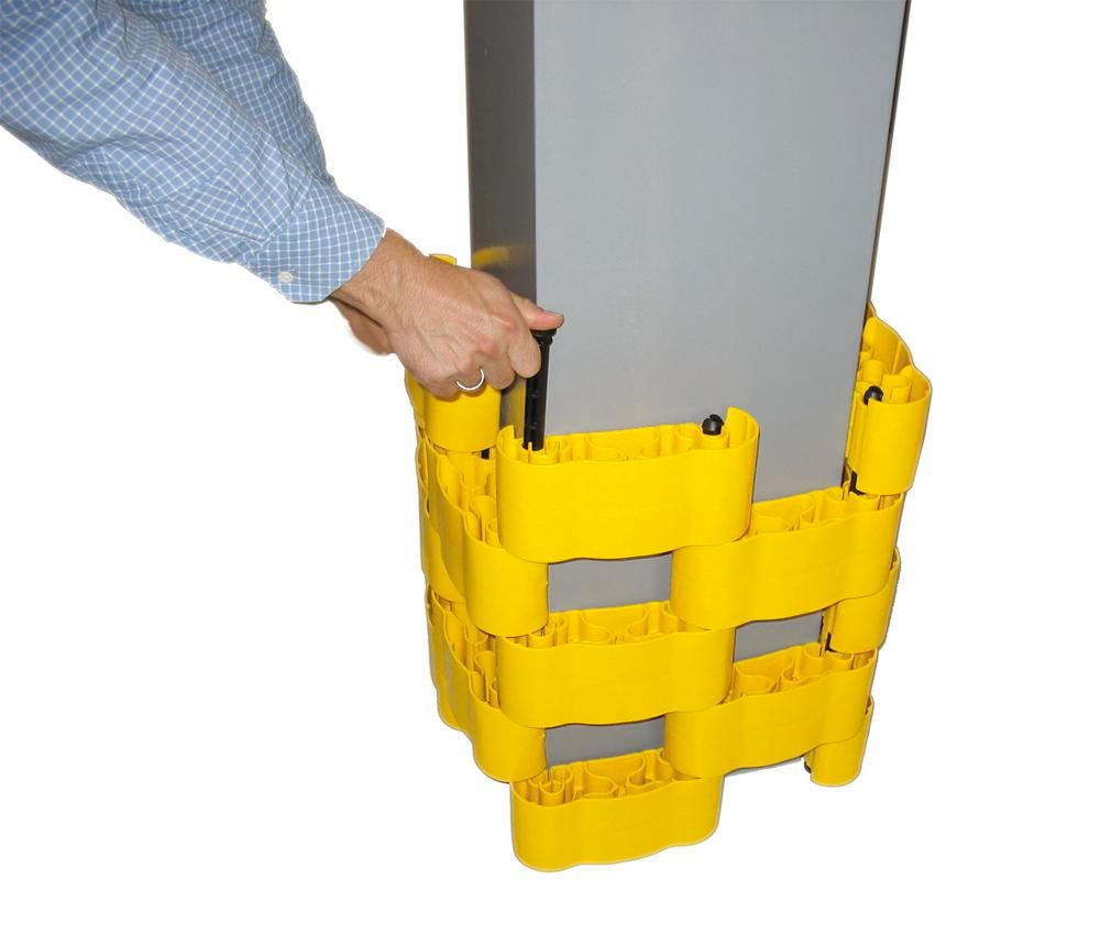 Pillar protection system Protect-it MAXI, for variable column diameters, set of 20