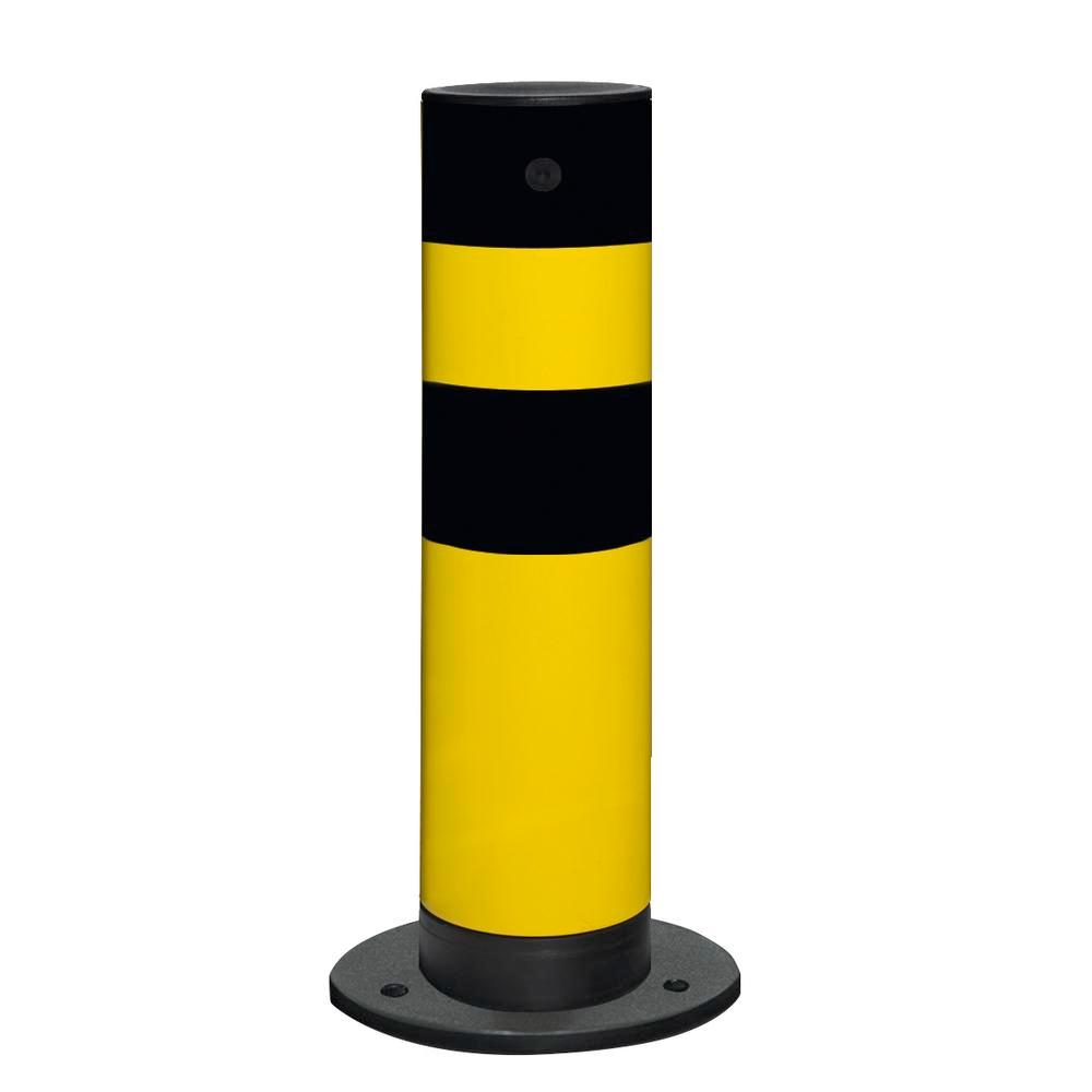 Safety barrier Flex for outside use, H 655 mm, hot-dip galvanised and plastic-coated