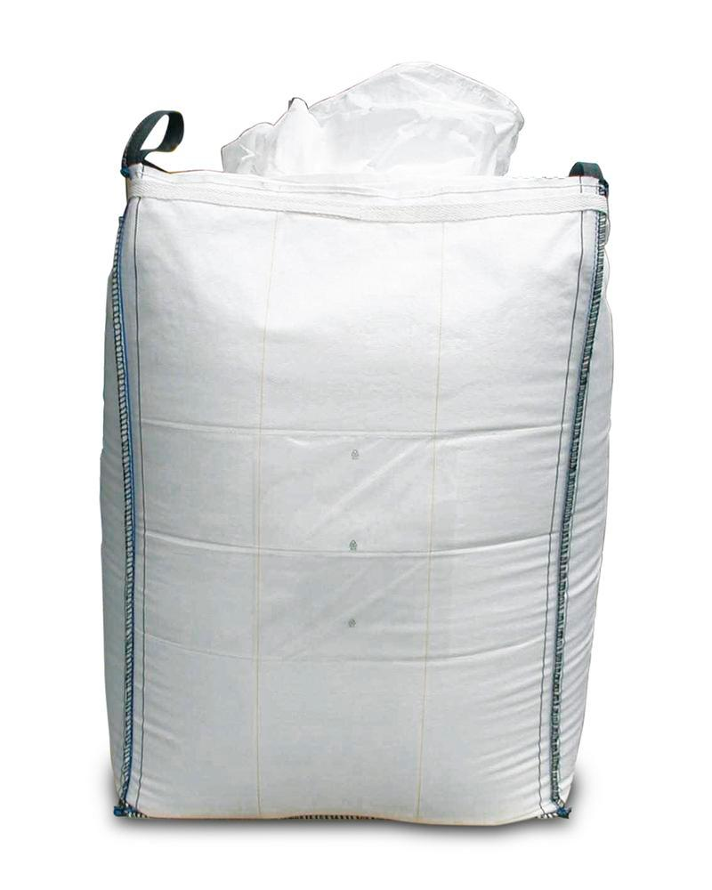Big Bag, SF 5:1, flap top, closed bottom, 90 x 90 x 110 cm, 1000 kg load capacity