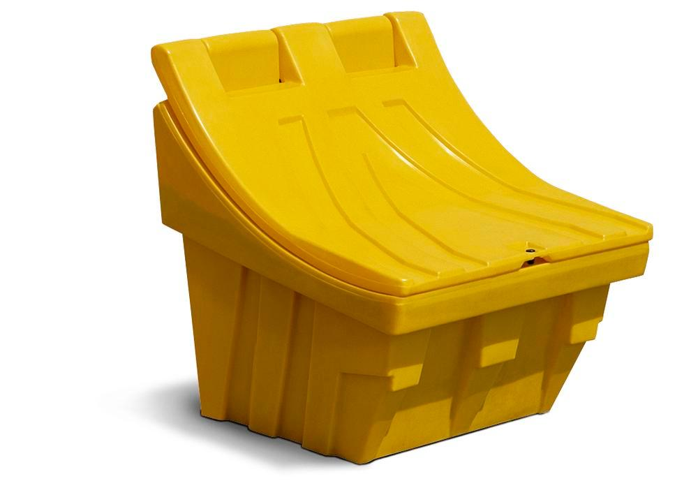 Grit Bin Model CS 100, 100l, manufactured from polyethylene (PE), stackable