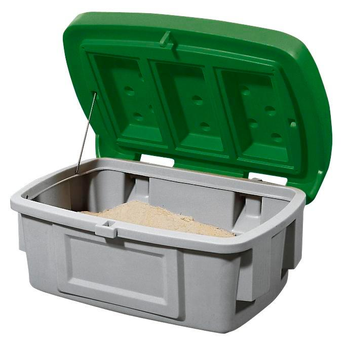 Grit Bin Model SB 100, Green Lid