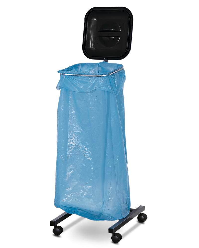Bin Sack Holders, mobile, for 1 bag