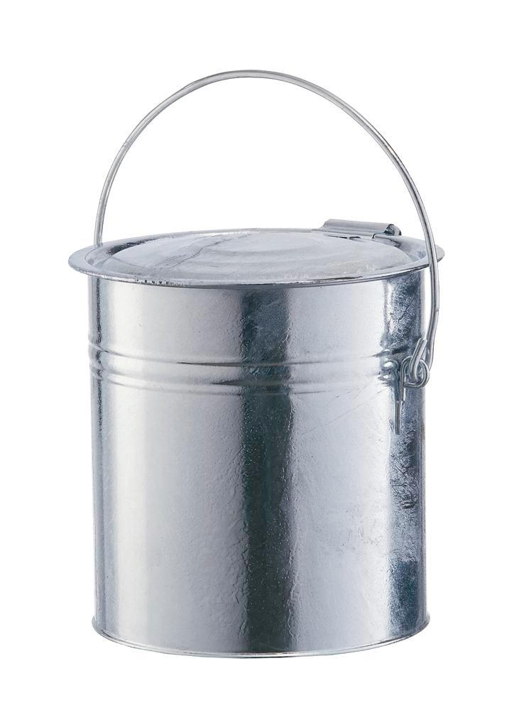 Bin with hinged lid, 40 litre capacity