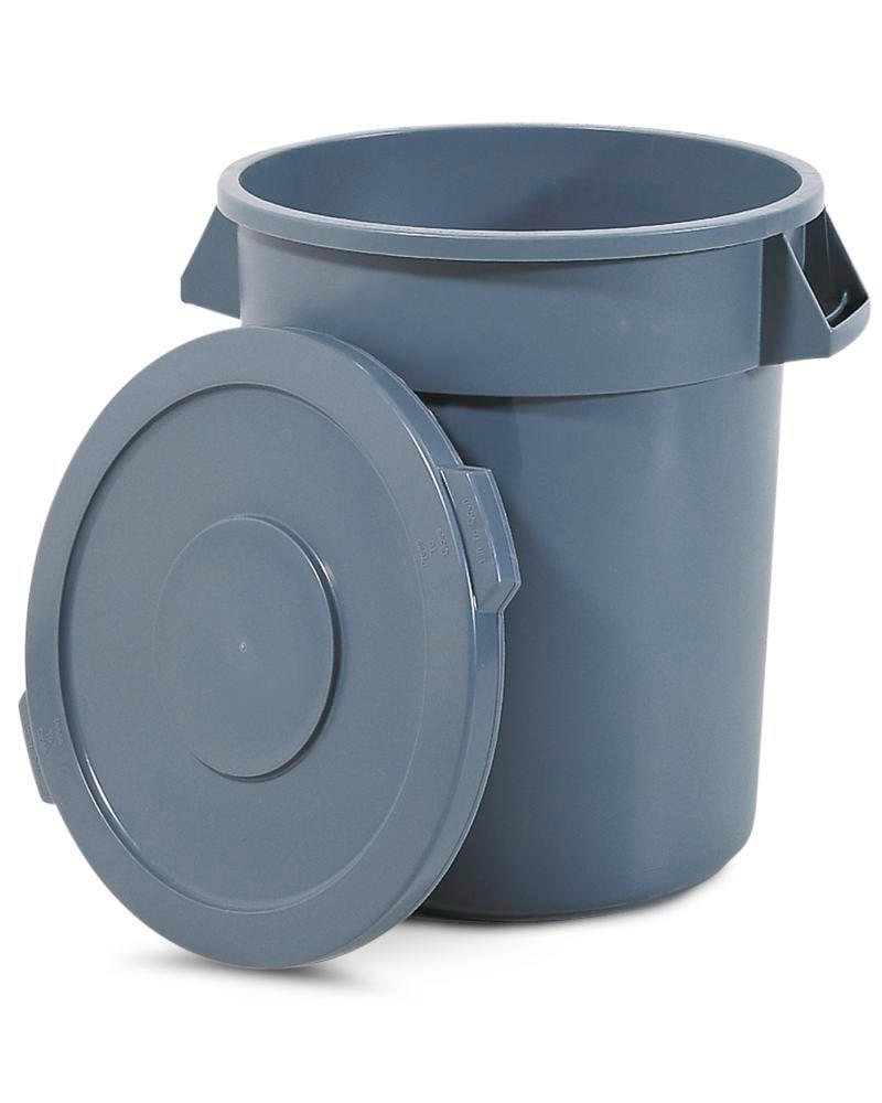 Multi Purpose Container manufactured from polyethylene, 210l, Grey