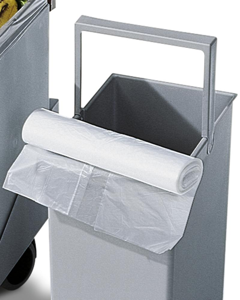 Refuse bag in HD-PE, for 15 litre recyclable materials collection box, 50 bags