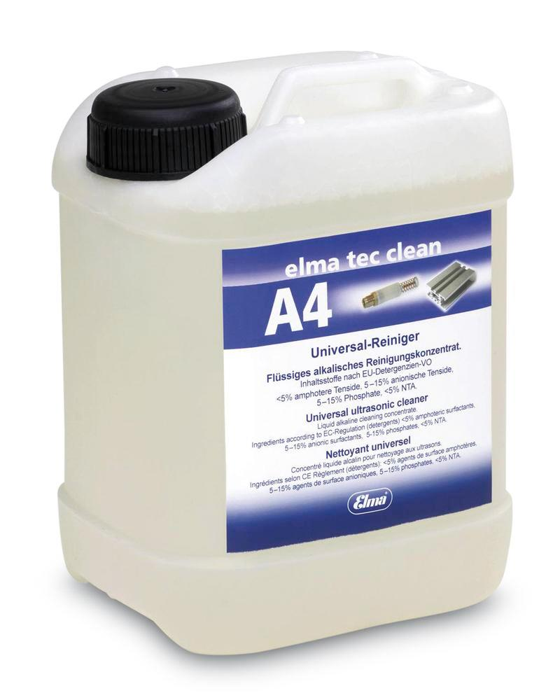 Cleaning solution A4, for Ultrasonic cleaner, for lime, rust and other oxides, 10 litre
