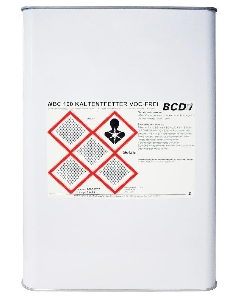 Cold degreaser type SC, VOC-free, 25 litres, for Safety Cleaner L 500 / L 800