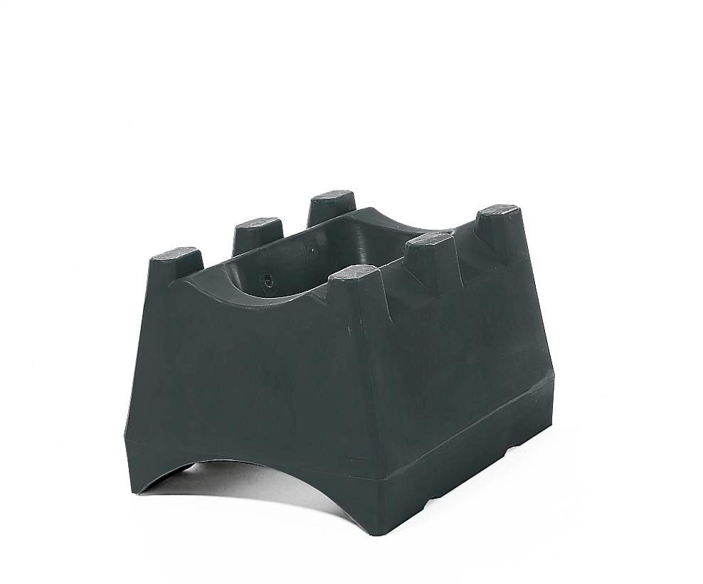 Drum mounts, polyethylene, to store 60 or 205 litre drums by design