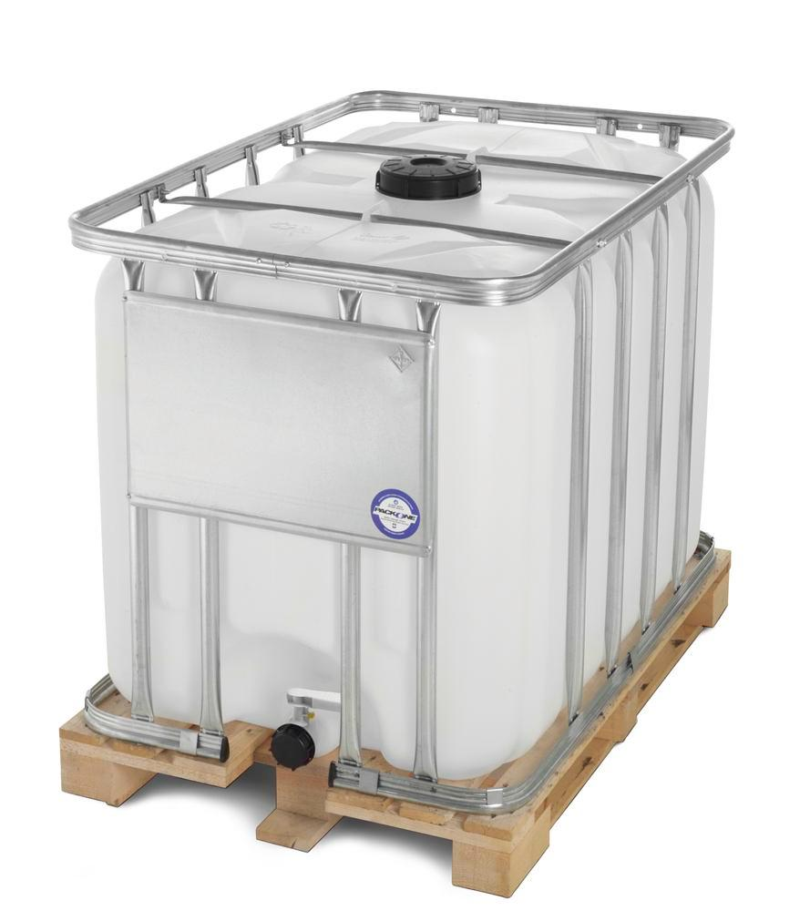 CONTAINER WITH WOODEN PALLET 1000L,HAZMAT
