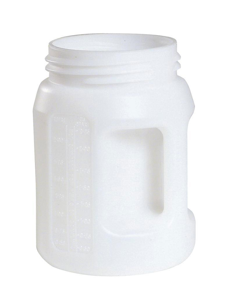 Dispensing containers made from Polyethylene (PE), 2 litre volume